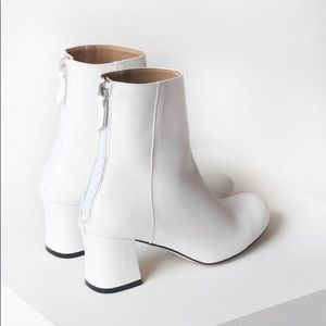 Milo boots by About Adrianne - white